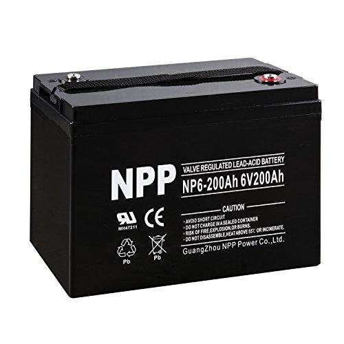 NPP NP6-200Ah 6V 200Ah...