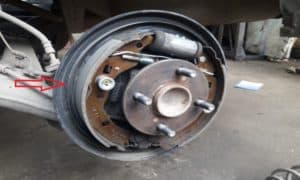brake shoes replacement