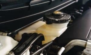 brake fluid container