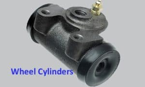 rear wheel cylinder replacement