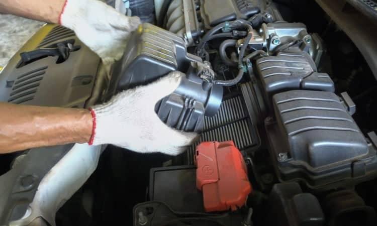 How to clean air filter car