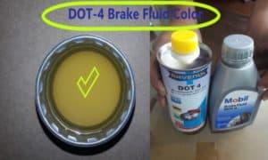 dot 4 brake fluid color