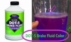 dot 5 brake fluid color