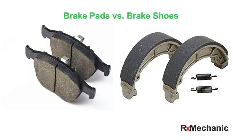 Brake Pads vs. Brake Shoes