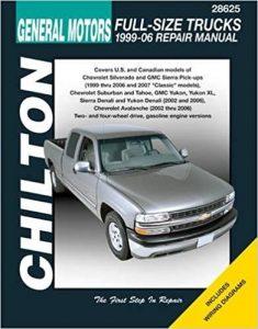 Chilton Auto Repair Manual