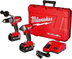 milwaukee cordless drill set