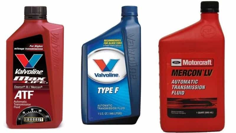 type a transmission fluid