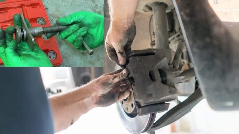how to use brake caliper tool
