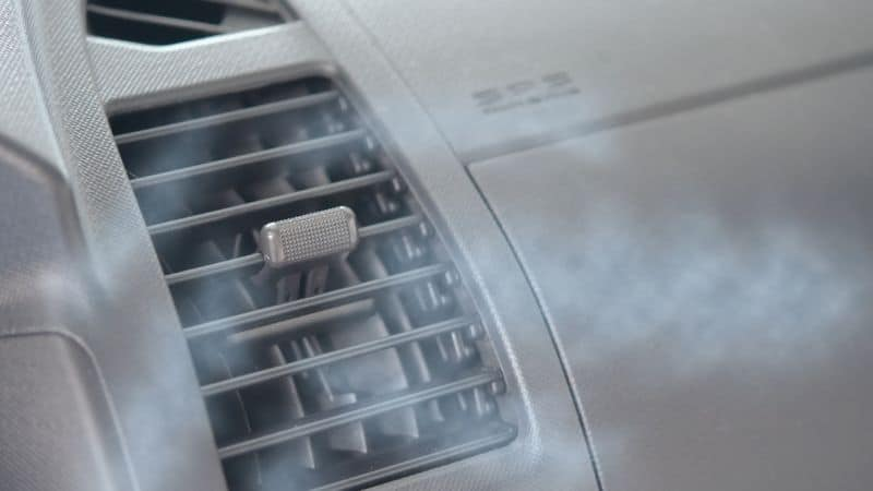 car overheating and ac blowing hot air
