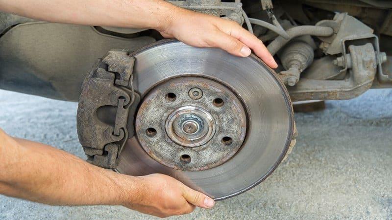 stuck brake caliper quick fix