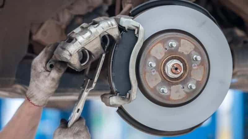 brake caliper sticking intermittent