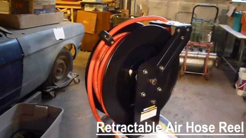 professional retractable air hose reel
