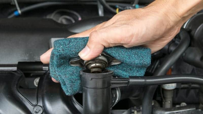 when to replace radiator cap