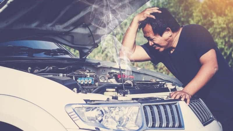 engine feels hot but not overheating