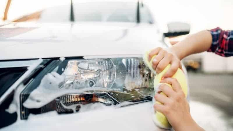 how to clean your headlights to make them brighter