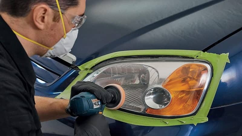 how to remove condensation from headlight housing