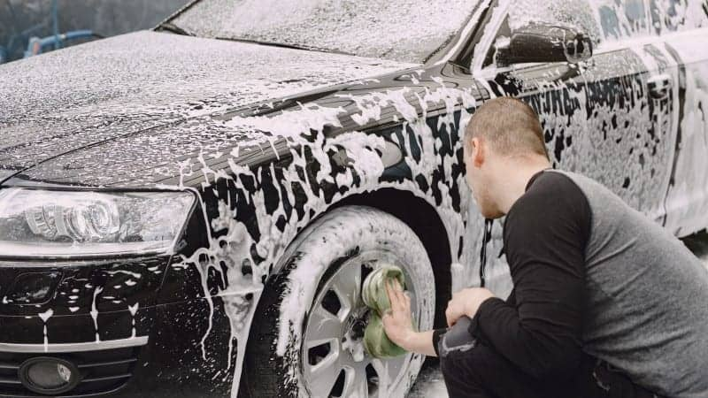 what can i use to wash my car