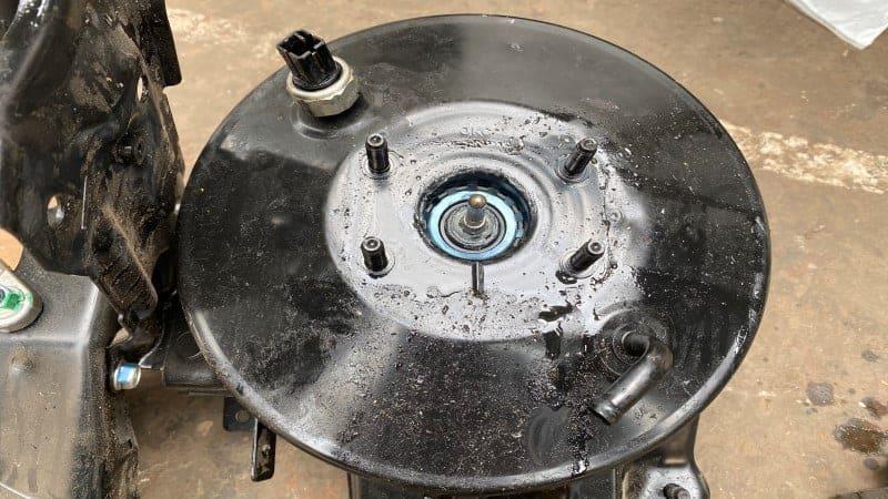 symptoms of bad brake booster check valve