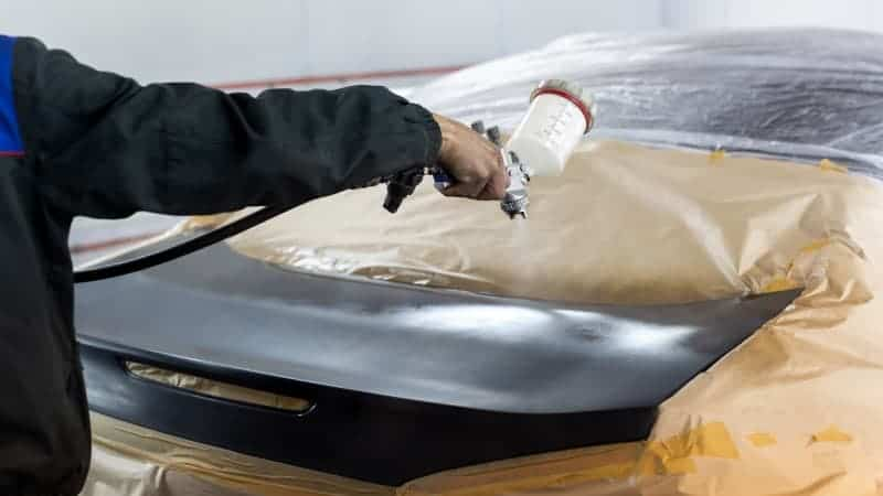 automotive paint booth supplies