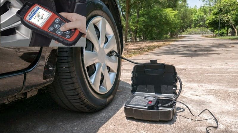 how to activate new tpms sensor without tool