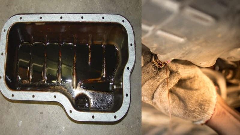 oil pan gasket leak quick fix