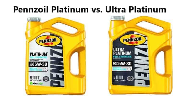 Pennzoil Platinum vs. Ultra Platinum