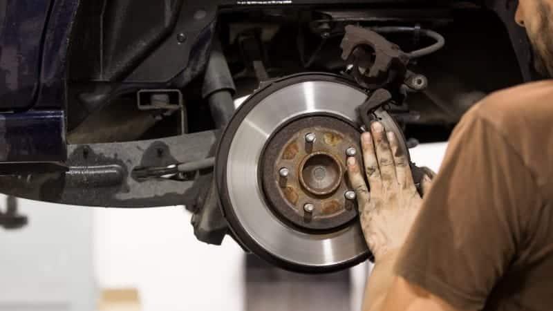 grinding noise when braking sometimes
