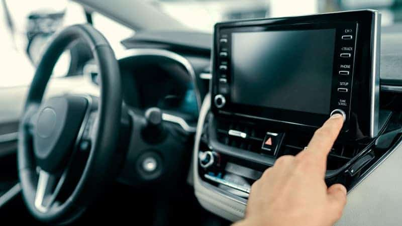 how to reset toyota car radio without code