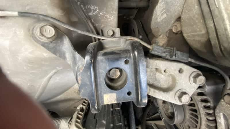 how to check engine mounts