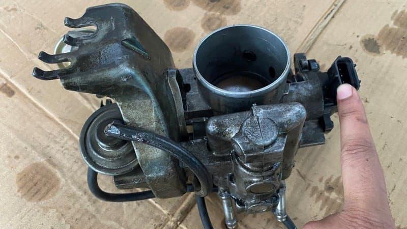 throttle position sensor test
