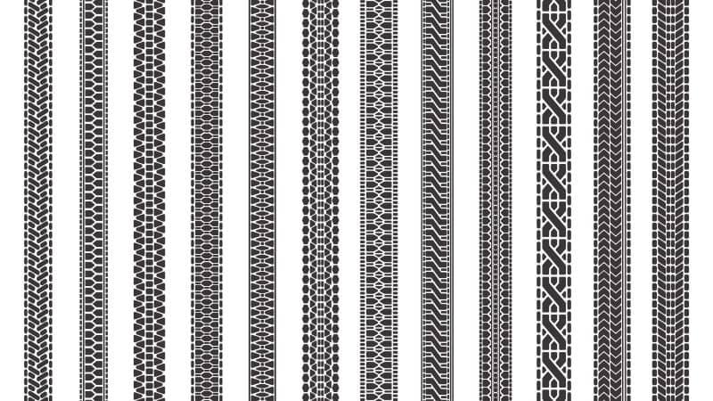 Tire patterns