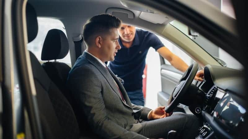 what to look for when buying a used car from a dealership