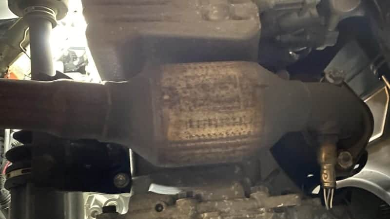 sign of bad catalytic converter