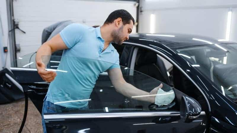 how to clean car windows inside
