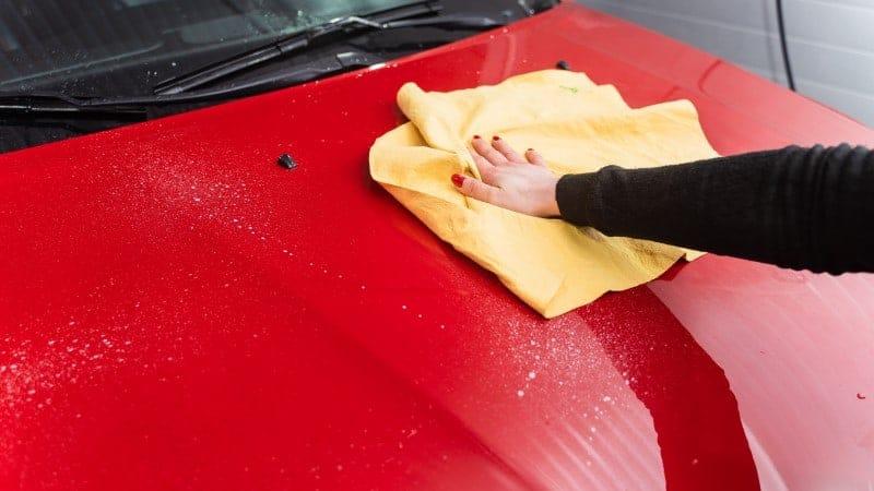 How to get Sap off Car