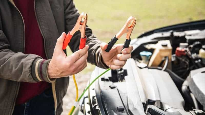 how to jump start a car with a spare battery
