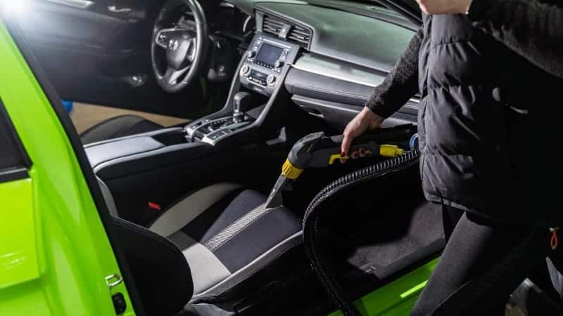 best way to clean car carpet and seats