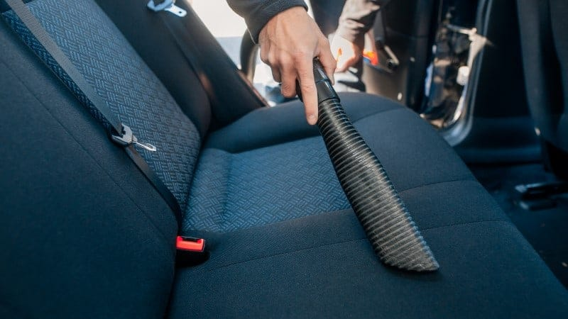 homemade cleaner for fabric car seats