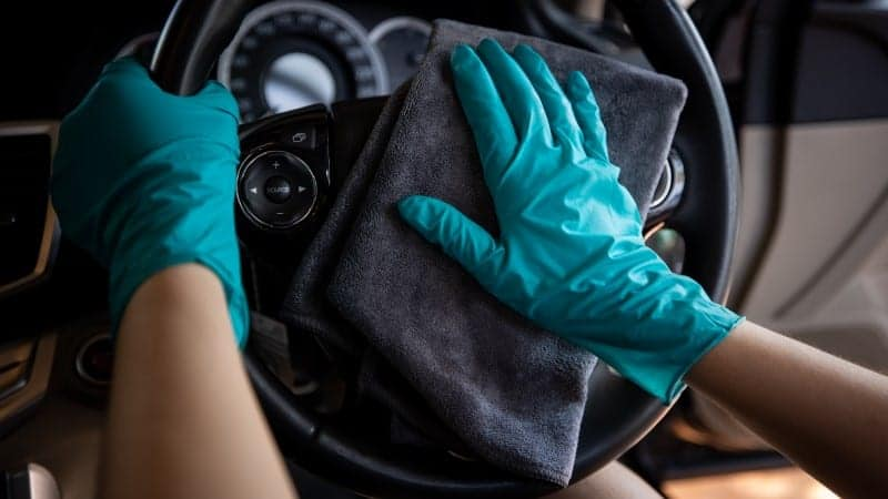 how to keep leather steering wheel like new
