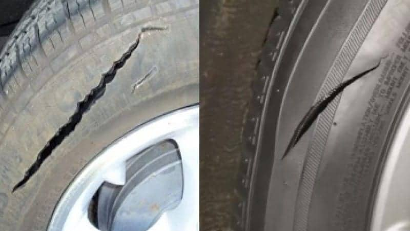 how to slash tires without a knife