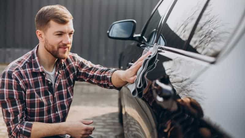 how to wash a car without a hose