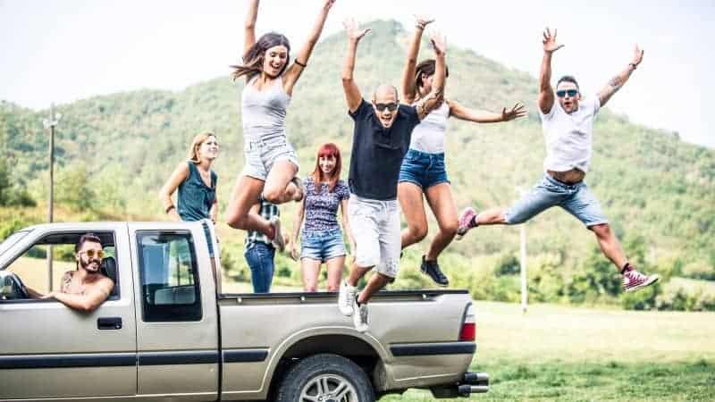 SUV vs. Truck Family