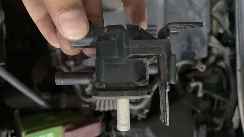 purge valve stuck closed