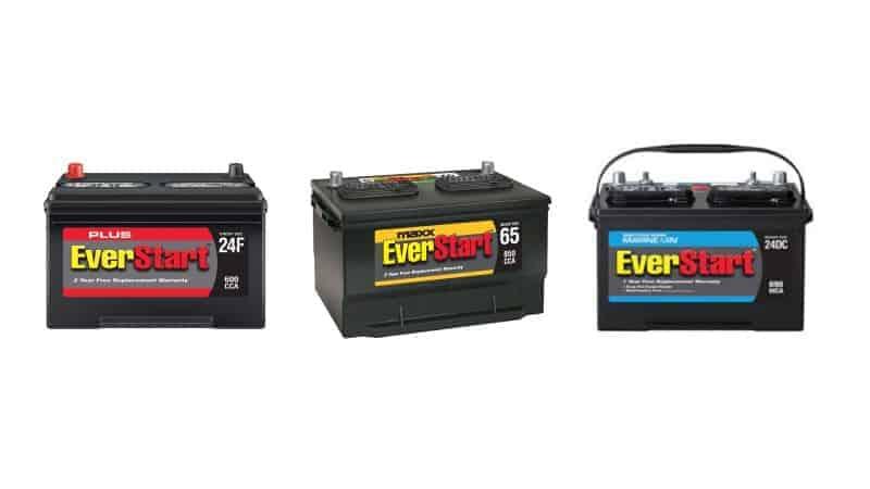 who makes everstart batteries 2021