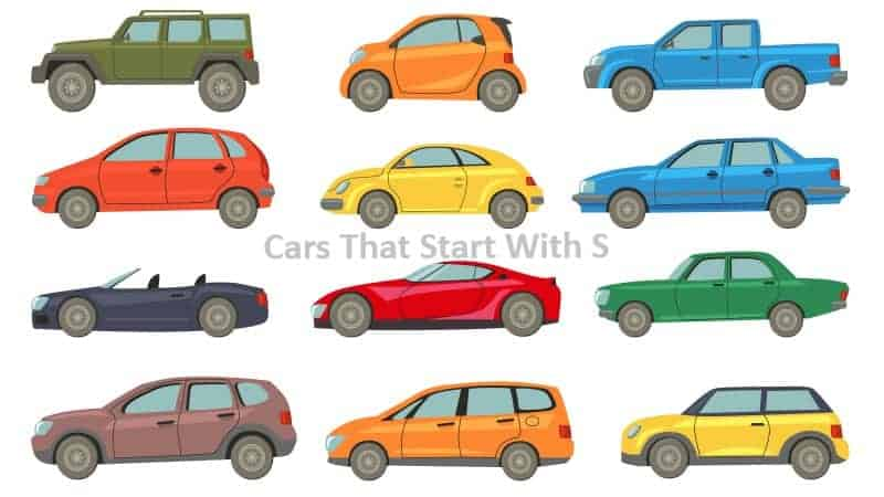Cars That Start With S