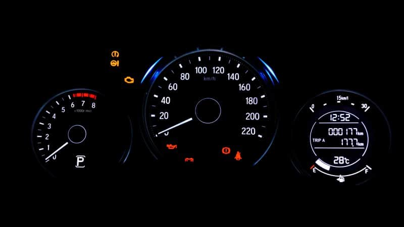 parking brake indicator light not working