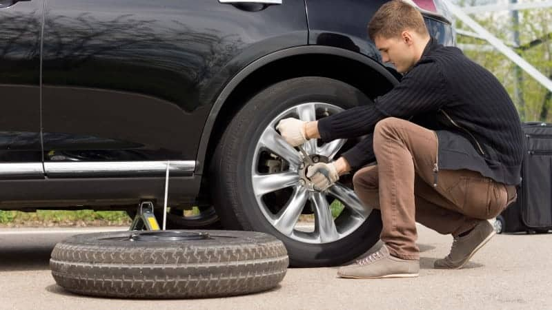 how long can you leave a spare tire on a car