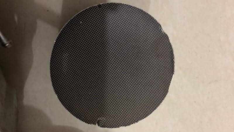 catalytic converter filter