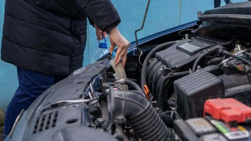 how to replace windshield washer fluid