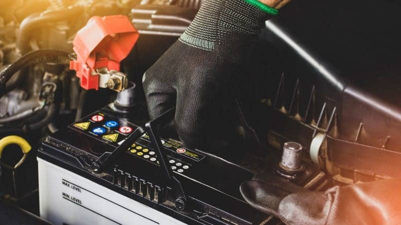 how to remove car battery